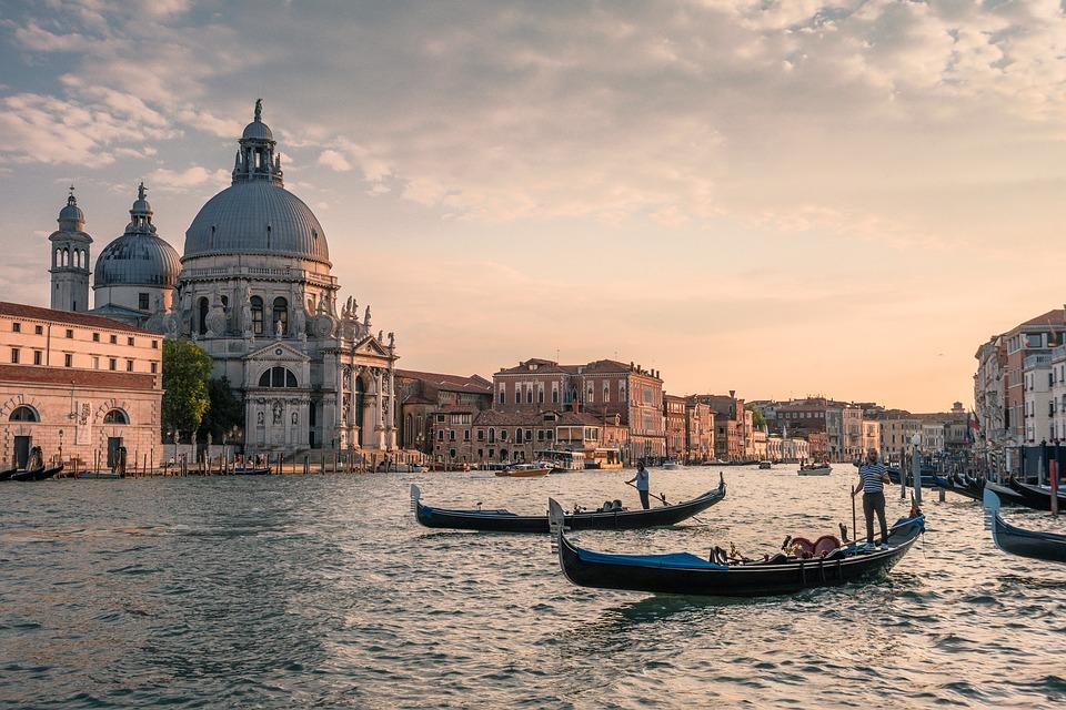 Canal Grande Venezia Gondole