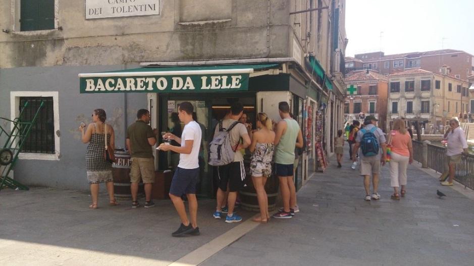 bacareto dove mangiare a venezia