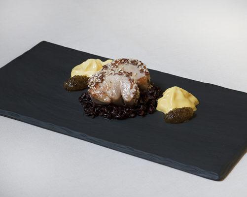 piatto raffinato ristorante mangiare venezia