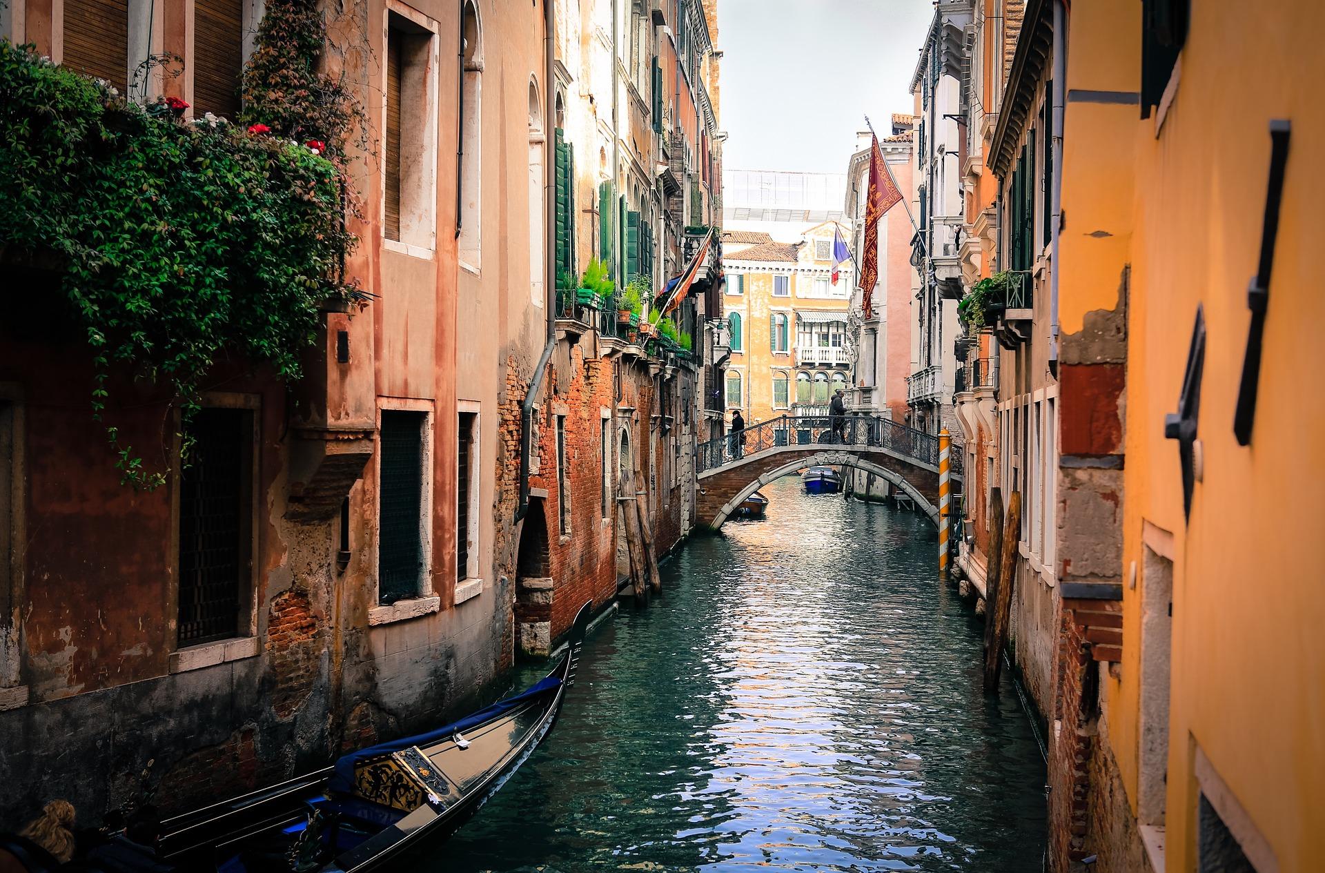 venezia canali ponte