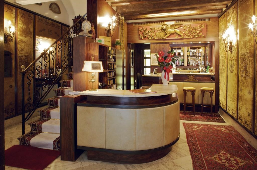 hotel venezia serenissima reception interno