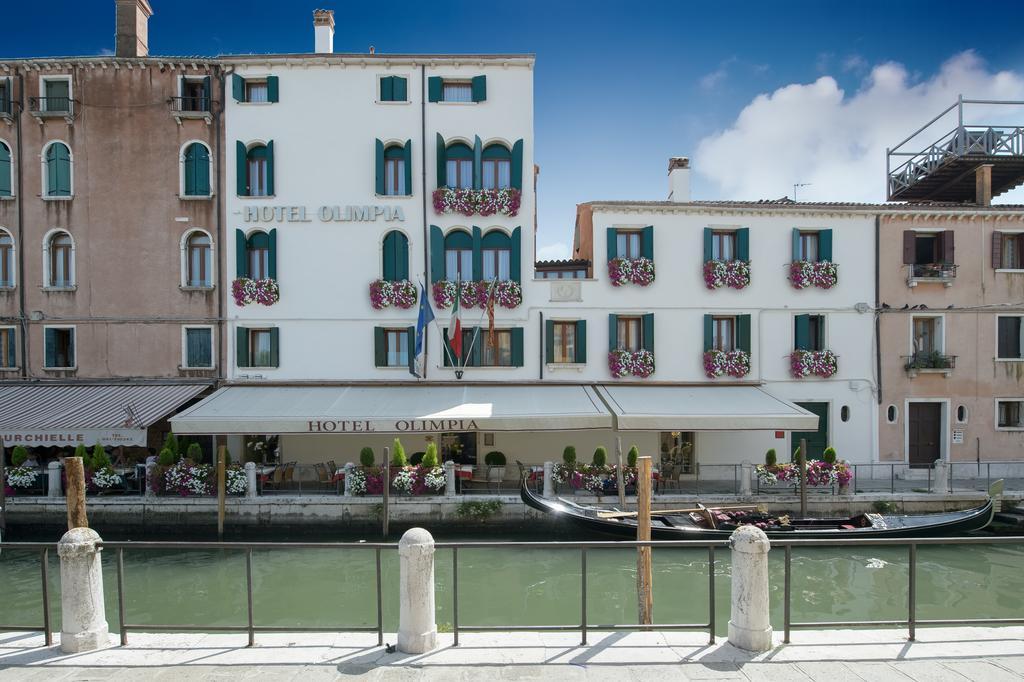migliori hotel centro venezia olimpia facciata