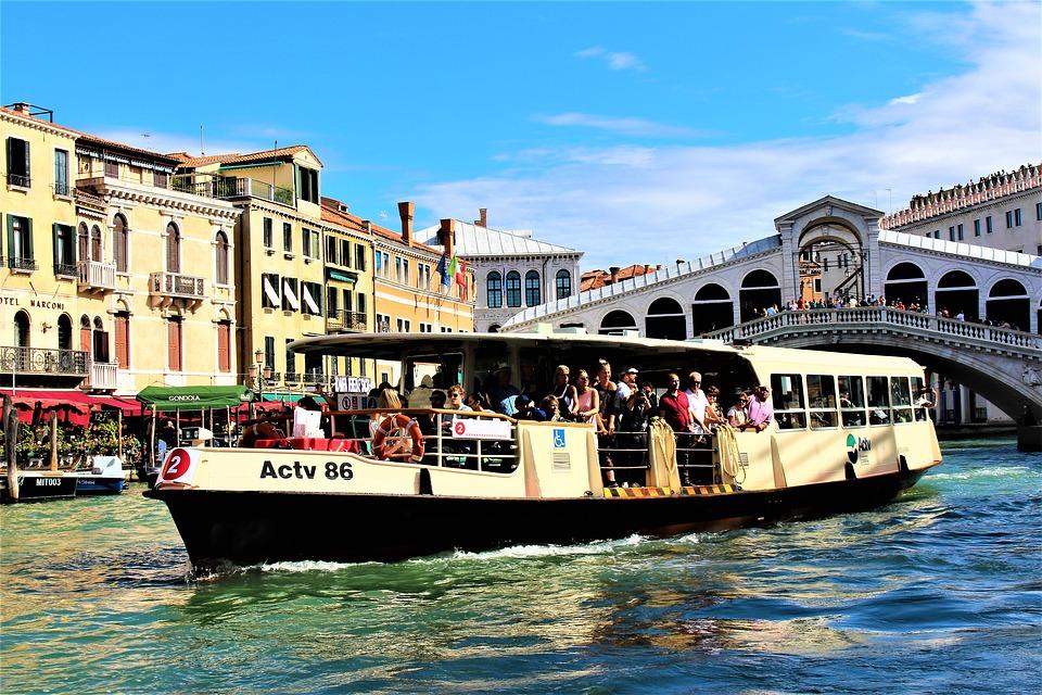 Venezia Vaporetto Trasporto