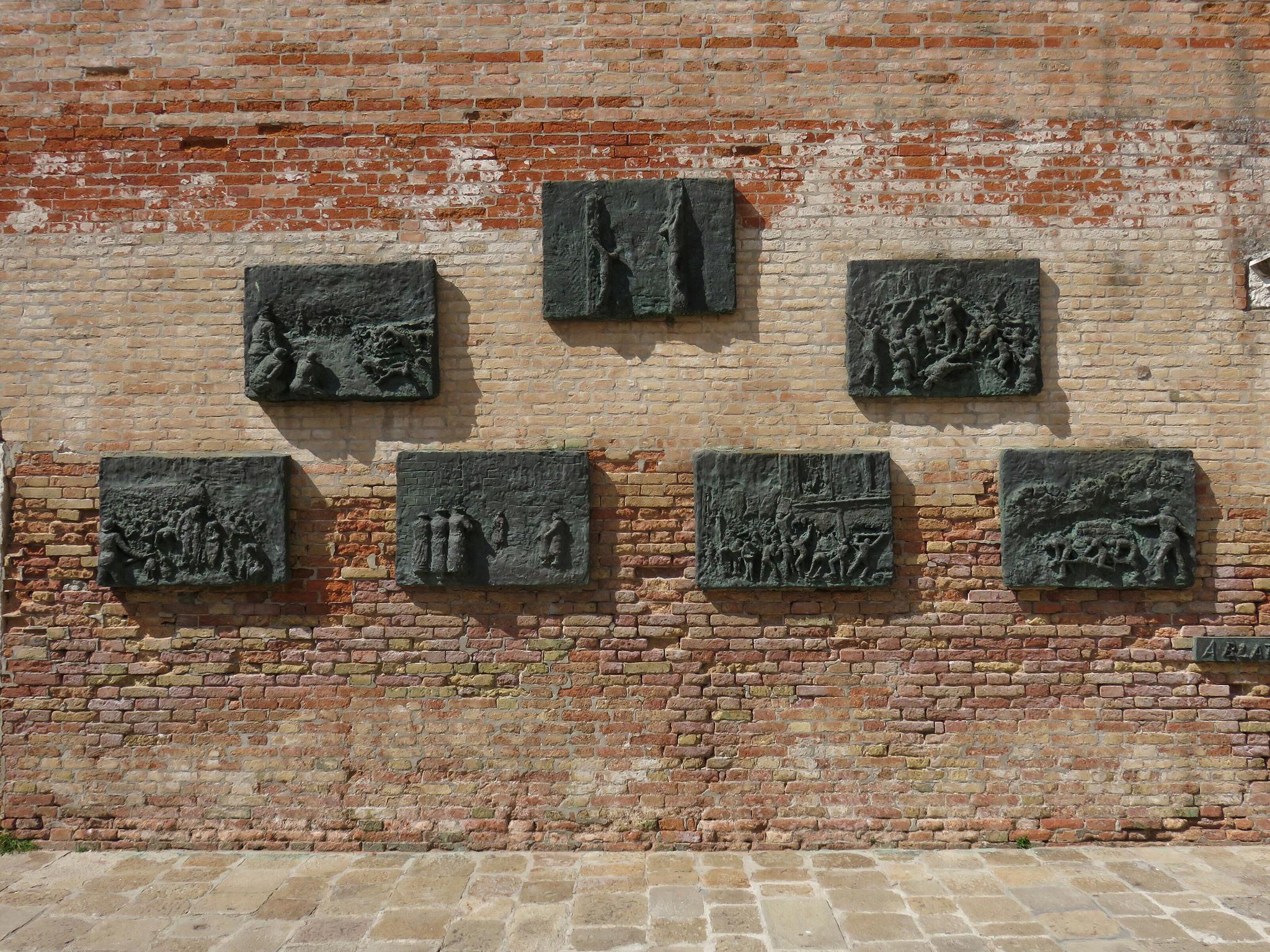 venezia muro ghetto ebraico