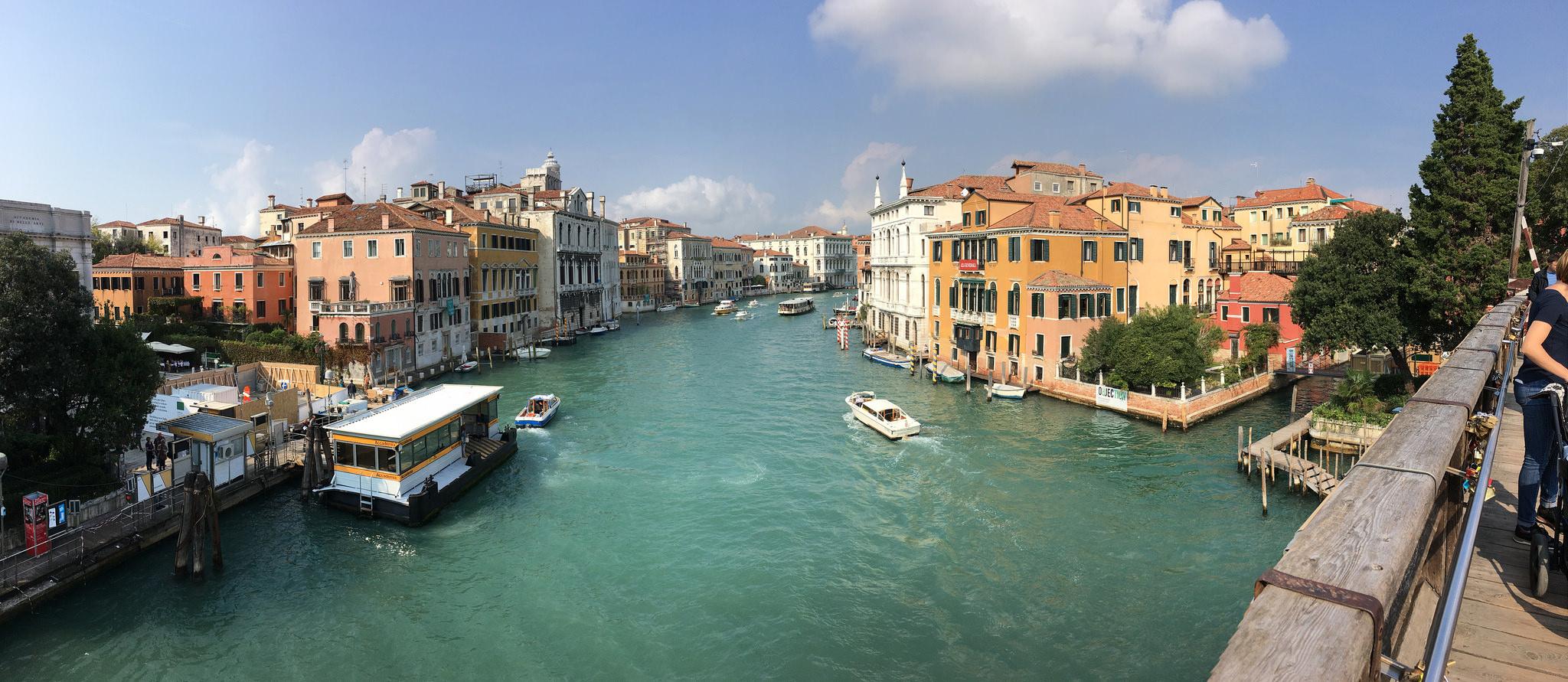 vista ponte accademia venezia dorsoduro