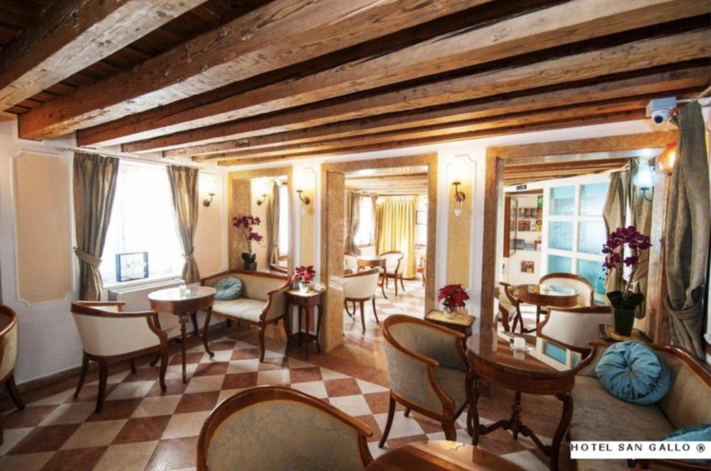 san gallo hotel Venezia interno