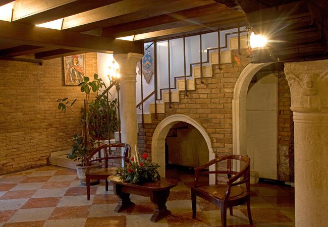 hotel al sole Venezia interno