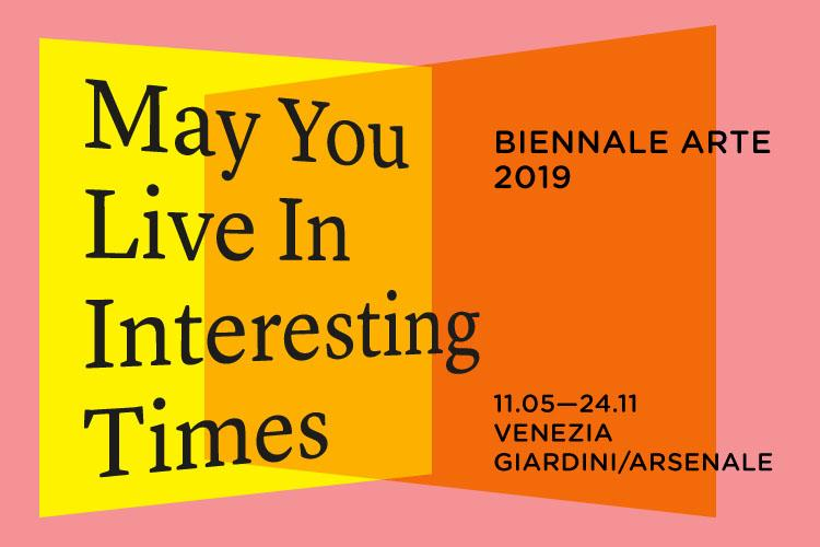 May You Live in Interesting Times logo biennale arte 2019